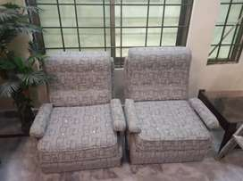 Nine seater sofa set in excellent condition