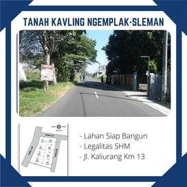 Kavling Murah Area Jakal Jogja SHM Aman