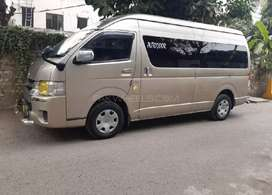 For Rent on daily  bacis toyota grand cabin