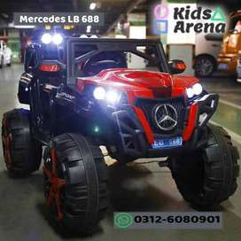 Mercedes LB-688 - Rechargeable Jeep for Kids At Discounted price