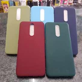 Case makaron ( polos warna ) Samsung A70s