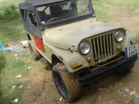 Mahindra Jeep 1987 Diesel Well Maintained