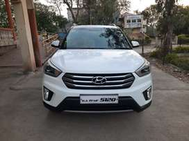 Hyundai Creta 1.6 SX optional 2015 diesel 2nd owner kms 118000