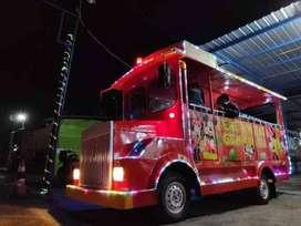 RST Kereta mobil wisata odong odong pancingan ikan lampu hias IIW