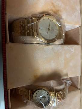 Titan Bandhan couple watch set (in packed condition)