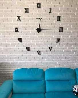 Jam dinding Besar Diameter 100-130cm
