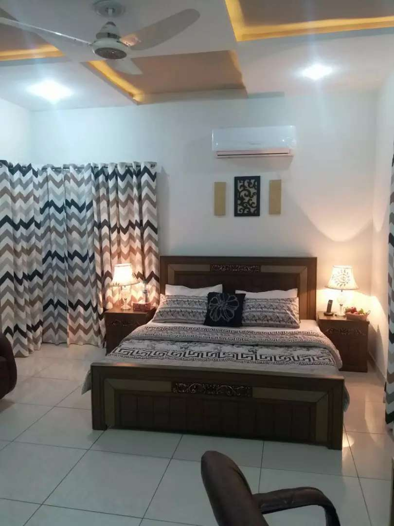 Furnished short stay /long stay dha daily rent 0