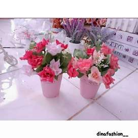 Bunga hiasan rumah murah