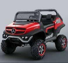 Mobil Aki mainan jeep Licence Mercedes sporty Ban ful karet
