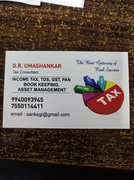We are a Tax and Financial consultant