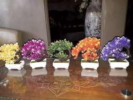 Bunga Hias, Bunga plastik