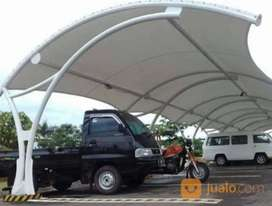Kami bengkel las nerimah pembuatan kanopi atap membarane $$1788