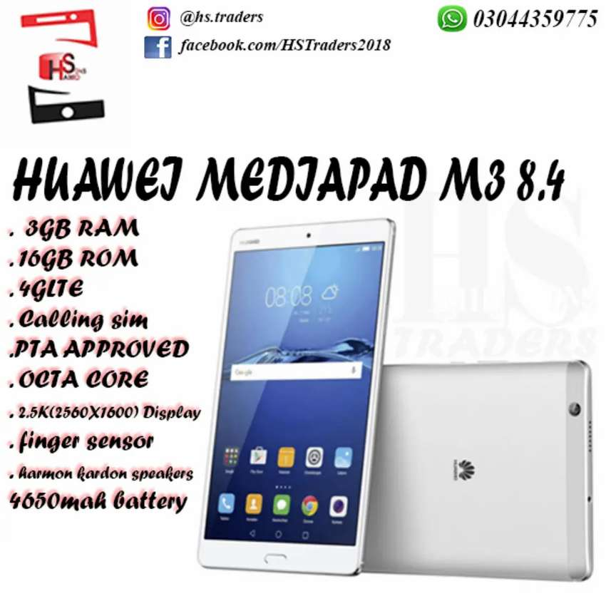 Blessed Friday. Huawei Mediapad M3 8.4, 4glte, calling. Pta Approved 0