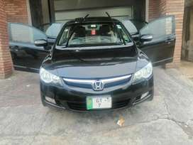 Honda Civic black beauty