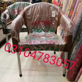 Jumbo size pLstic chairs branded and tables also available