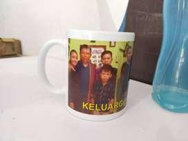 mug custom gelas foto