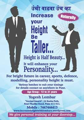 increase your height be taller naturally