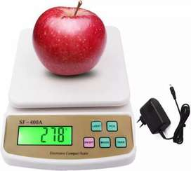 Electronic weighing scale service and calibration