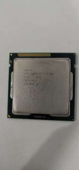 Intel Core i7 2700K 3.50GHZ   Processor Available