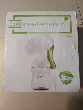 Pompa asi manual merk Claire's