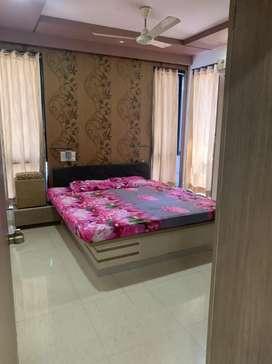 Nice 3 bhk full furnished highrise flat near Rangoli Park, Kalawad Rd
