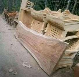 baidi papan top daun meja kursi kayu utuh barang sampai baru bayar
