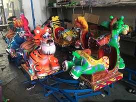 pabrik sepeda perahu air bebek mini odong animal berkah DA