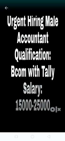 Accountant for tile showroom
