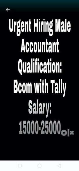 Accountant for tile showroom