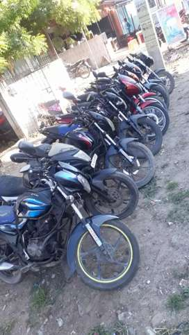 All bikes available