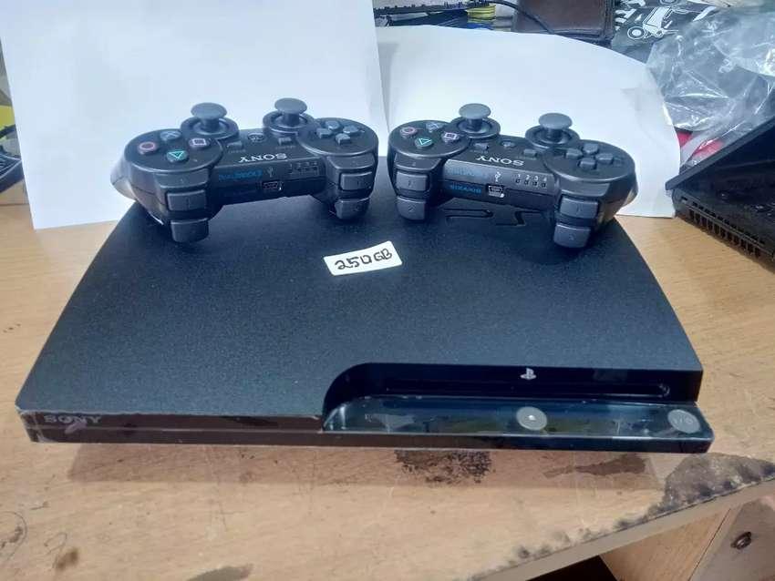 PS 3 SLIM 250GB FULL PAKET KOMPLIT HARGA TERMURAH 0