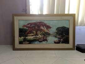 Lukisan Flamboyant by Koempol