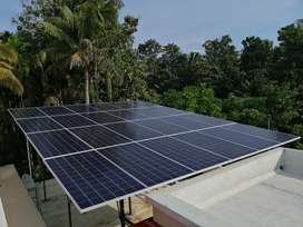 30KW Grid Tie Solar System at Rs. 45,000 per KW