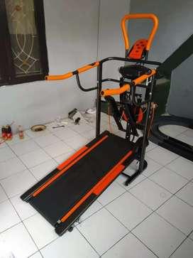 Miliki Segera Treadmill Manual 6 Fungsi Massager Bisa COD