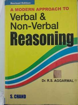 Verbal and Non Verbal reasoning RS Aggarwal