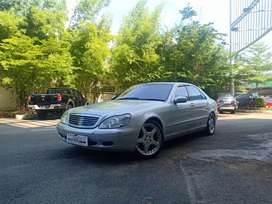 Mercedes Benz S600 V12 2002 W220 Full Option  Silver on Grey