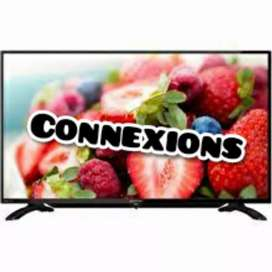 "Onsite 2 yrs warranty with 46"" Smart full hd new led tv"