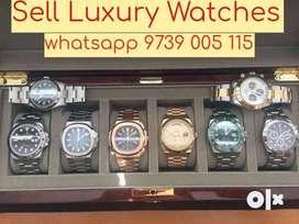 Sell Rolex Daytona , Submariner, GMT Master. Luxury Watch Buyers india