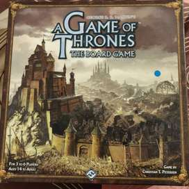 A GAME OF THRONES BOARD GAME SECOND EDITION