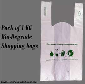 Bio digradable plastic shopping bags oppo