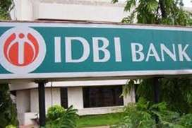 IDBI process hiring  candidates for CCE/ Data Entry / backend process