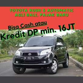 Toyota Rush S Automatic Asli Bali Terawat & Siap pakai