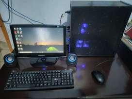 PC Gaming GT 420 + Layar Monitor SAMSUNG