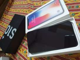 Apple i phone x -64 gb indian space grey with bill box and all acc
