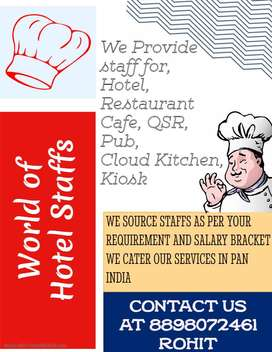 Staff Supplier in HOTEL, RESTAURANT, CAFE,QSR IN BANGALORE 8898O72461
