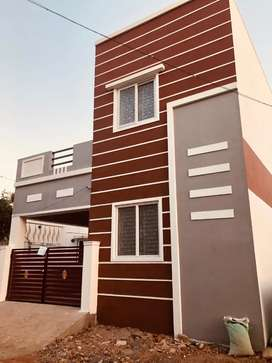 Newly Build 2 bhk house for sale in Thoppampatti @31 L