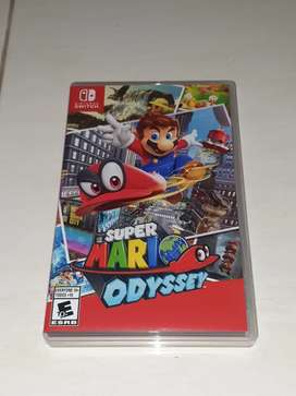 Games Super Mario Odyssey nintendo switch