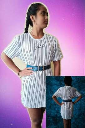 Tshirt Line - Casual Dress