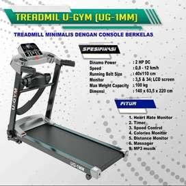 Treadmill elektrik 2 fungsi GYM Bf6099