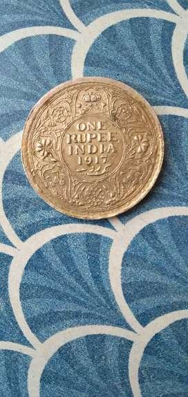 Silver coin 1917